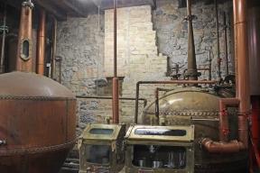 Kilbeggan Irish Whiskey Distillery - Copper Pot Still of the new distillery