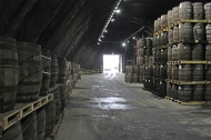 Kilbeggan Irish Whiskey Distillery - Maturation Warehouse