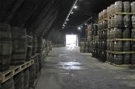 Kilbeggan Irish Whiskey Distillery - Maturation Warehouse