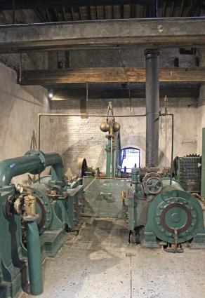 Kilbeggan Whiskey Distillery - Steam Engine