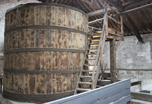 Kilbeggan Irish Whiskey Distillery - Brewing Vat