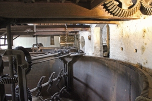 Kilbeggan Irish Whiskey Distillery - Iron Mash Tun