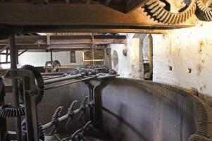 Kilbeggan Irish Whiskey Distillery - Iron Mash Tun