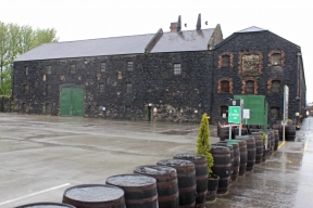 Kilbeggan Irish Whiskey Distillery - 200-year old granite warehouse