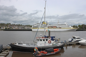 MS Hamburg - Waterford Harbour -  River Suir