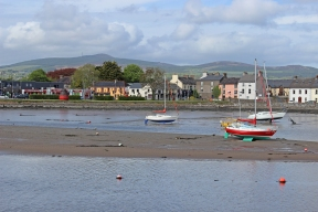 Dungarvan, Ireland situated on the mouth of the Colligan River