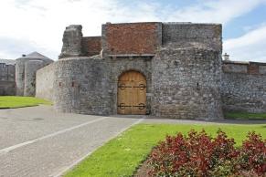 Dungarvan Castle, County Waterford, Ireland