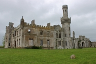 Duckett's Grove - a ruined 19th-century great house and former estate in County Carlow, Ireland