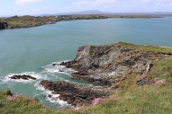 View from Baltimore Beacon on Sherkin Island, West Cork, Ireland
