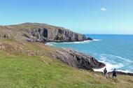 Cliffs at Baltimore Beacon, County Cork, Ireland
