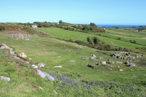 Drombeg Stone Circle, Fulacht Fiadh and Hut Site, West Cork, Ireland