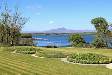 View from Bantry Garden on Bantry Bay, County Cork, Ireland