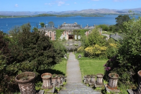 View over Bantry Bay from Bantry House and Garden, County Cork, Ireland