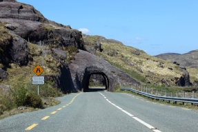 Turners Rock Tunnels on the N71 County Kerry, Ireland