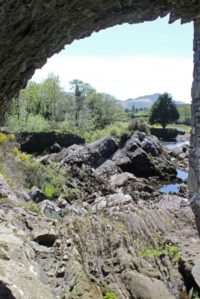 Under the bridge in Sneem, Ring of Kerry, Ireland
