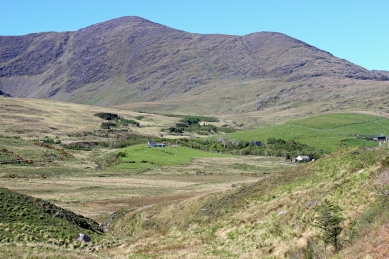 Landscape at the southern Ring of Kerry, Ireland