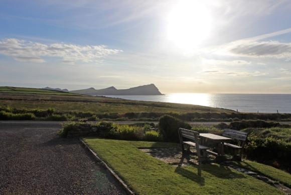 View from Gorman's Clifftop House, Dingle Peninsula, Ireland