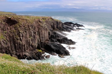 Southwest Coast of Dingle Peninsula close to Dunbeg Promontory Fort, Ireland