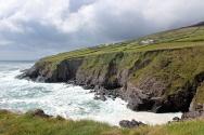 Southwest Coast of Dingle Peninsula close to Dunbeg Promontory Fort, Ireland