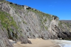 Cliffs at Coumeenoole Beach, Dingle Peninsula, Ireland