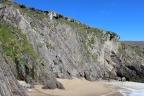 Cliffs at Coumeenoole Beach, Dingle Peninsula, Ireland
