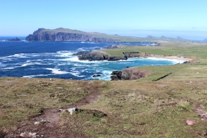 Dingle Penninsula with the Three Sister close to Ballyferriter, Ireland