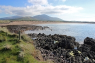 View to the West from the Wine Strand close to Ballydavid - Dingle Peninsula - Ireland