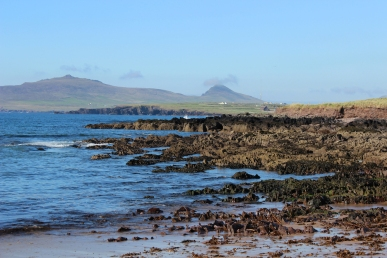 View from the coast close to the Wine Strand, Dingle Peninsula, Ireland