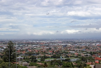 View over Cape Town from Durbanville