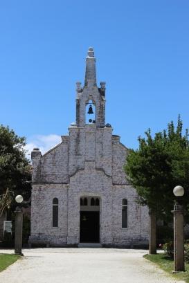 Ermita de San Sebastián on Isla de la Toja, Galicia, Spain