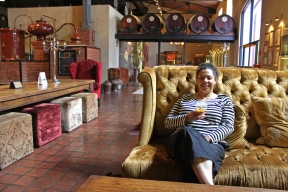 At Van Ryn's Distillery, Stellenbosch, South Africa