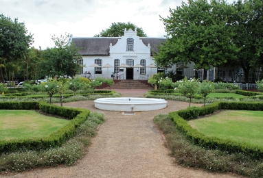 Neethlingshof Wine Estate in Stellenbosch, South Africa