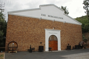 Die Bergkelder Visitor's Centre in Stellenbosch, South Africa