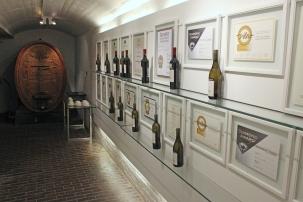Die Bergkelder Wine Centre in Stellenbosch, South Africa