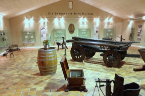 Die Bergkelder Wine Museum in Stellenbosch, South Africa