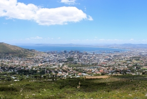 Cape Town from Tafelberg Road, South Africa
