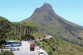 Lion's Head from Tafelberg Road, South Africa