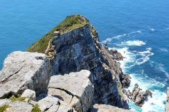 Cliffs below The Old Cape Point Lighthouse, South Africa