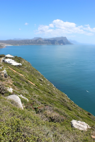 View from the Old Cape Point Lighthouse, South Africa