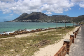 Railway line to Simon's Town along the False Bay - Simonstown - South Africa