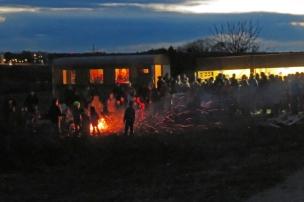Funkenfeuer 2017 - Childrens' Bonfire in Mettenberg (Biberach), Germany
