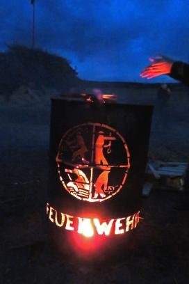 Funkenfeuer 2017 - Bonfire in Mettenberg (Biberach), Germany