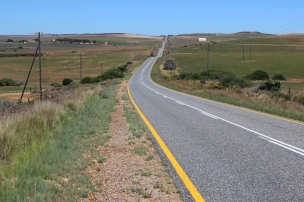 R319 between Cape Agulhas and Swellendam, Western Cape, South Africa