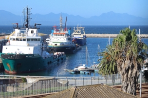 Mossel Bay Harbour, Southern Cape (Garden Route) of South Africa