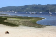 At the Knysna Yacht Club - Knysna - South Africa