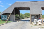 Entrance to Addo Elephant National Park - South Africa