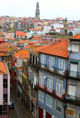 view from Porto Cathedral (Sé do Porto)
