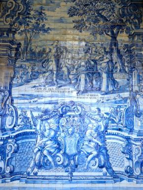 Azulejos in Porto Cathedral (Sé do Porto)