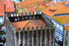 view from one of the steeples of Porto Cathedral (Sé do Porto)