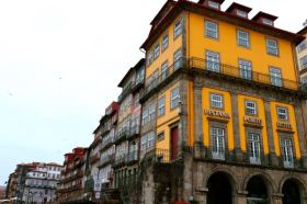 Pestana Vintage Hotel in the old part of the city Porto